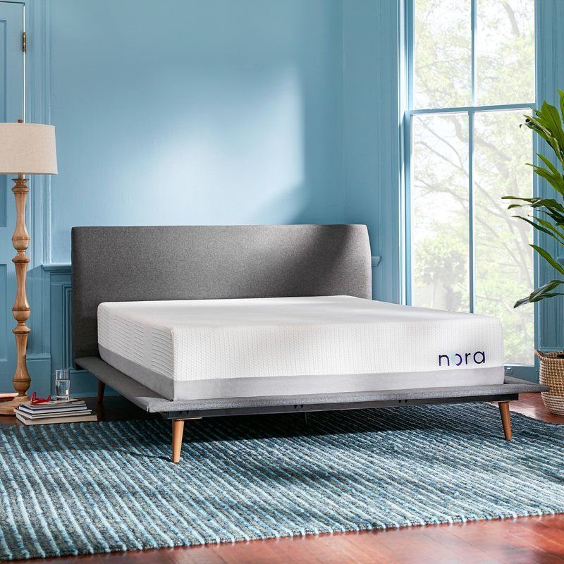 "Nora 12"" Medium Memory Foam Mattress Upholstered"