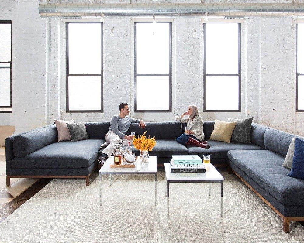 Jasper Long Deep Custom Sectional Sofa Interior Define Deep