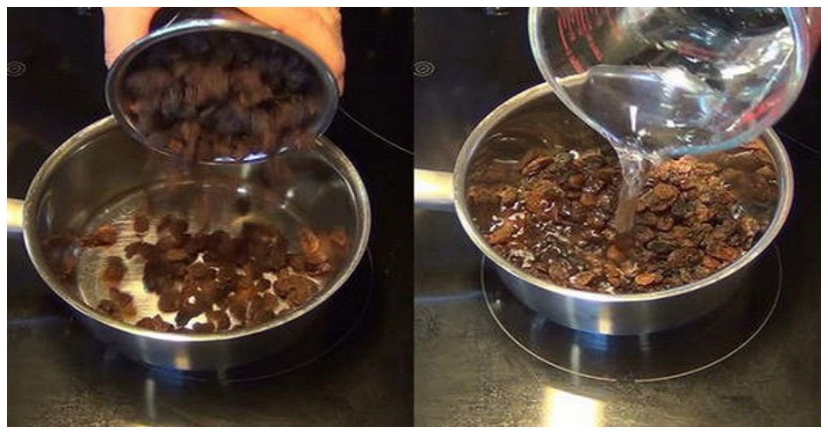 The Fatty Liver Raisins Cleanse Recipe  #beautytips  #fitness