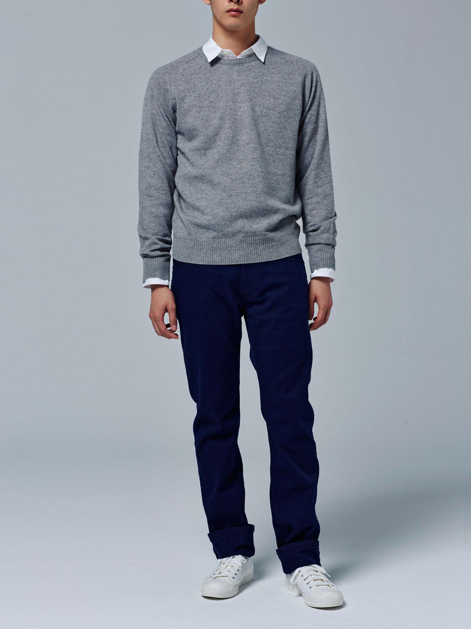 Lookbook | Wool Wool Wool | MUJI | Mens outfits, Men casual