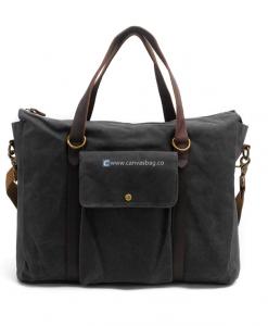 Canvas Side Bag Vintage Canvas Messenger Bag in 2018  3b4ffd4b2e08f
