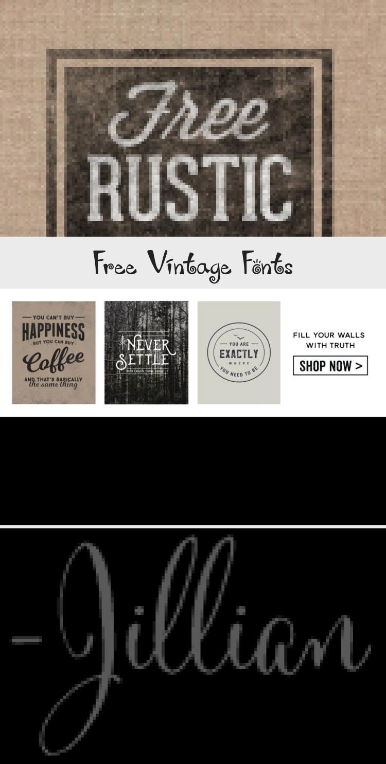 Something About Vintage Typography Conveys A Message Of Authenticity And Quality Take Your Designs B Vintage Fonts Geometric Logo Design Corporate Logo Design