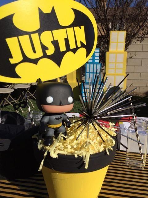 Batman Birthday Party Ideas Batman birthday Batman and Birthdays
