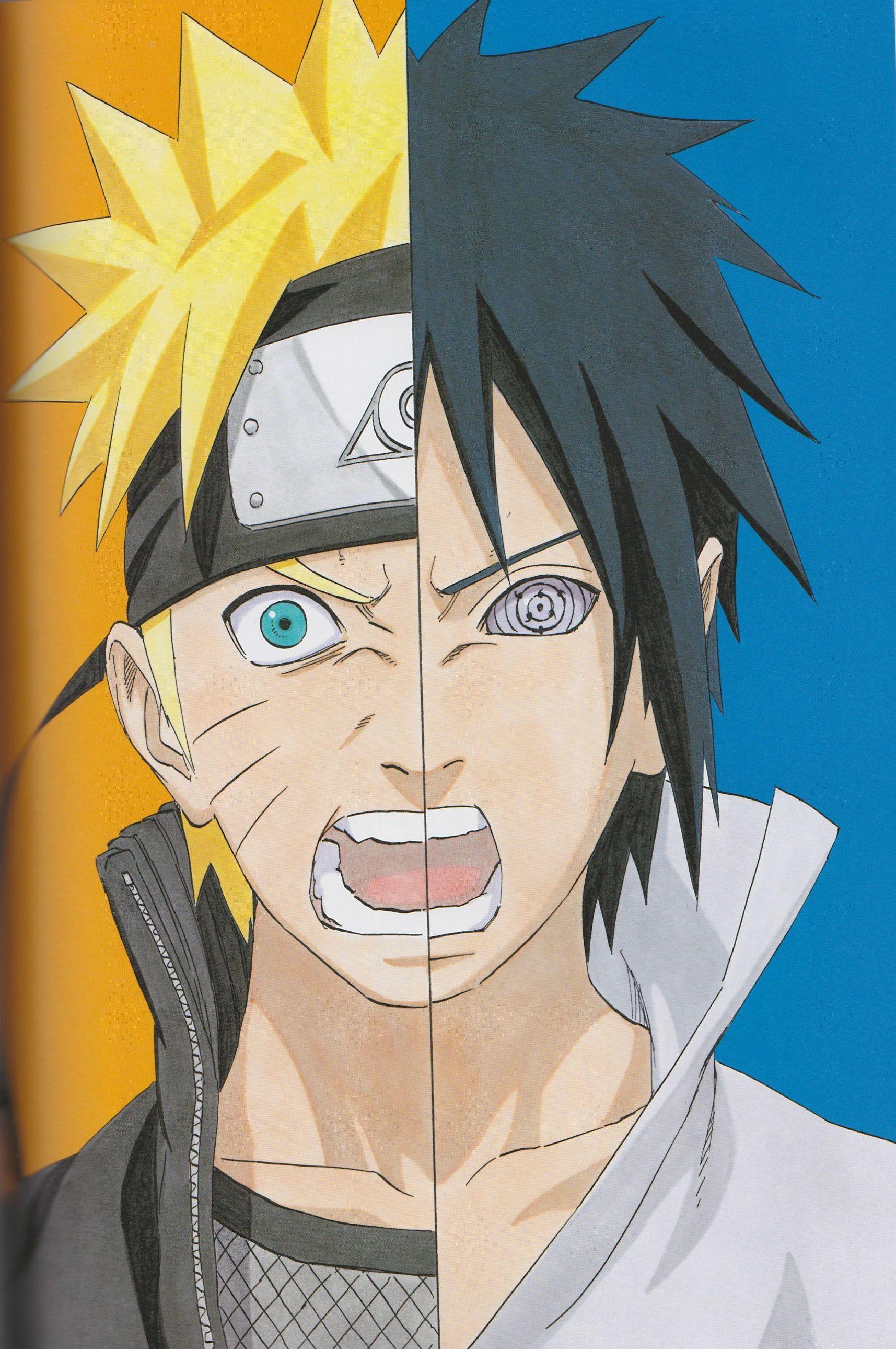 Naruto Sasuke Com Imagens Naruto Manga Colorido Desenho De
