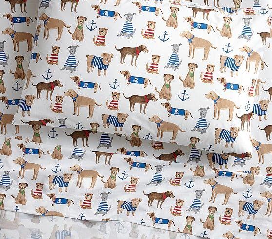 Salty Dog Sheet Set Salty Dog Pottery Barn Kids