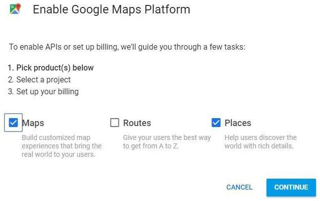 Enable Google Maps Platform | IoT Projects & News | Iot ... on google zip code map, google street car map, google maps uk, hazmat routing map, google curriculum vitae, google city map,