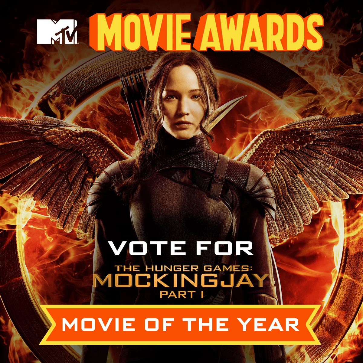 Show your support for The Hunger Games Mockingjay