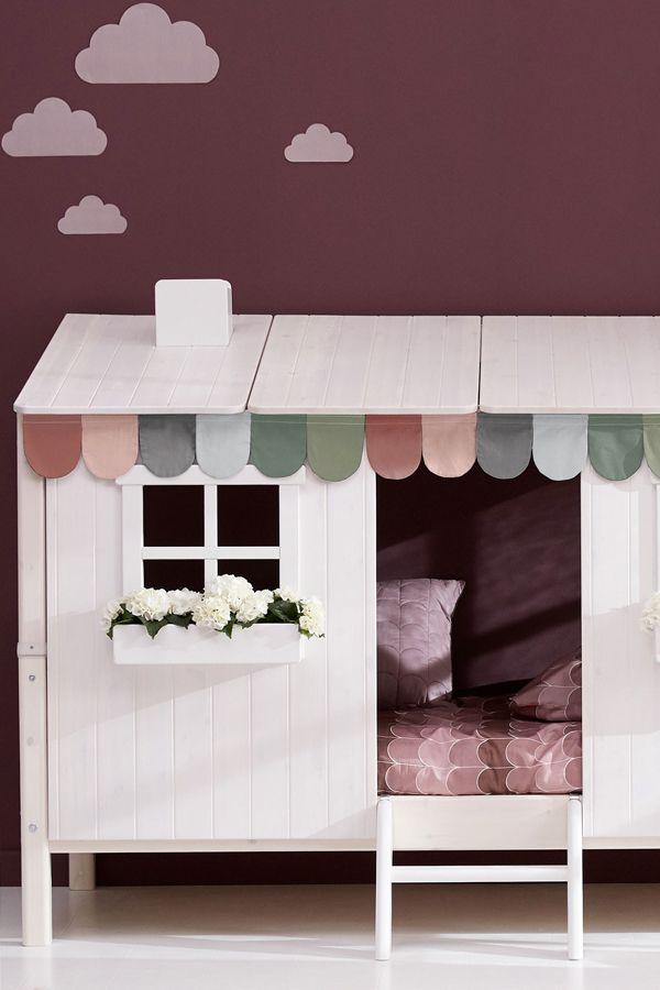 FLEXA Classic Einzelbett mit 1/1 ClassicHaus Kiefer