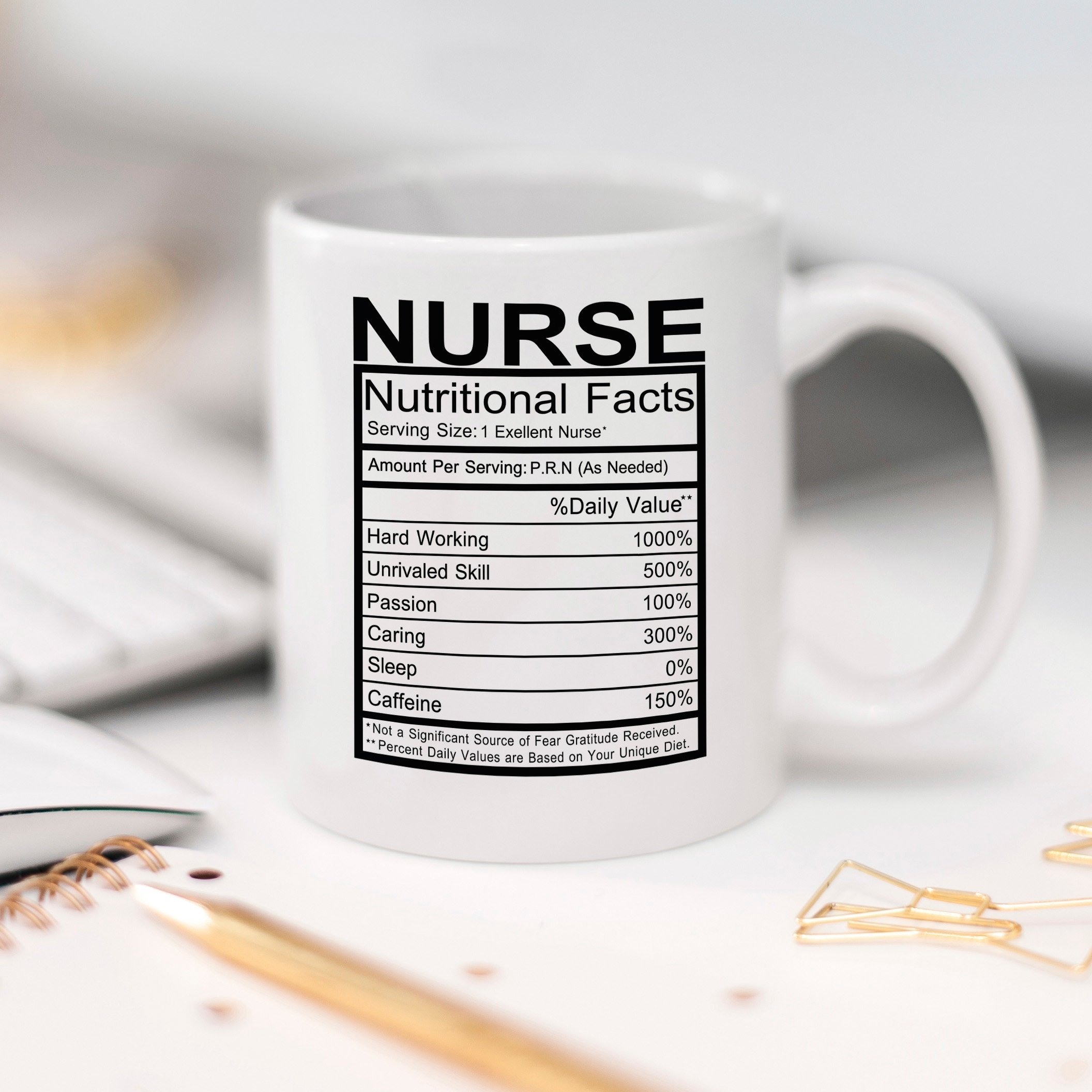 Nurse Gift RN LPN Coffee Mug Gift for Nurse