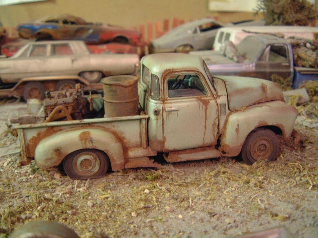 Unrestored Truck Junker Models | Model car, Models and Cars