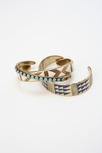 Kathryn Bentley Enamel Cuffs