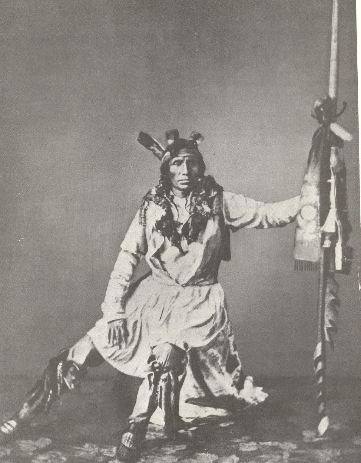 Mdewakanton chief Tribe Native American Dakota Crow Little Beauty Tribe Indians The Nation Sioux Of