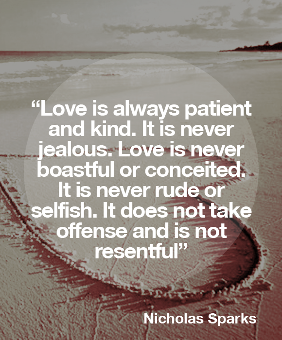 Love Is Patient A Walk To Remember Quote | www.pixshark ...