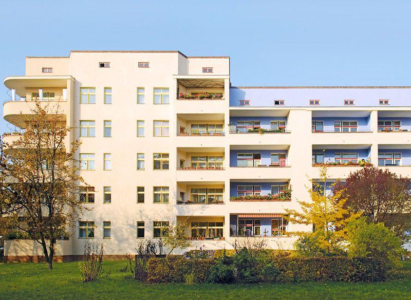 Wohnstadt carl legien berlin germany 1929 for Architektur 1929