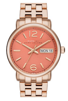 cf36c14a5e7 pretty coral face watch. pretty coral face watch Marc Jacobs Watch