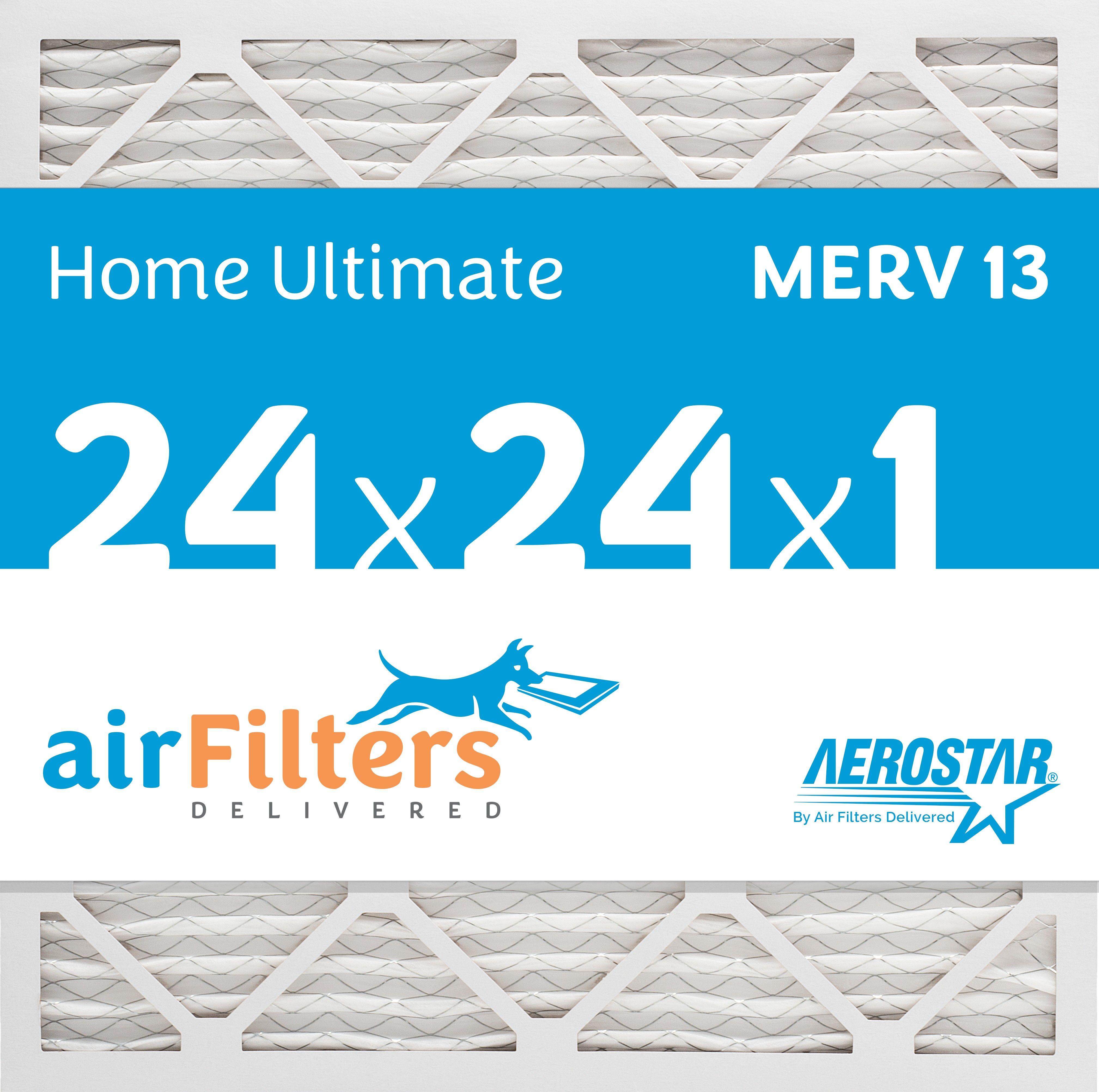 24 x 24 x 1 MERV 13 Pleated Air Filter Air filter