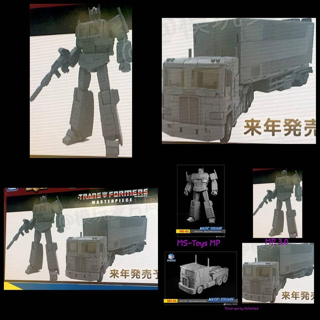 Newly revealed from the Tokyo Toyfair is Takara Masterpiece Optimus ...