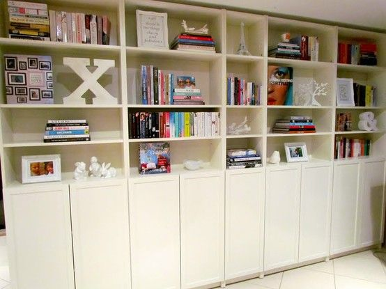 Billy Bookcase Easy To Assemble Organizing Shelves And