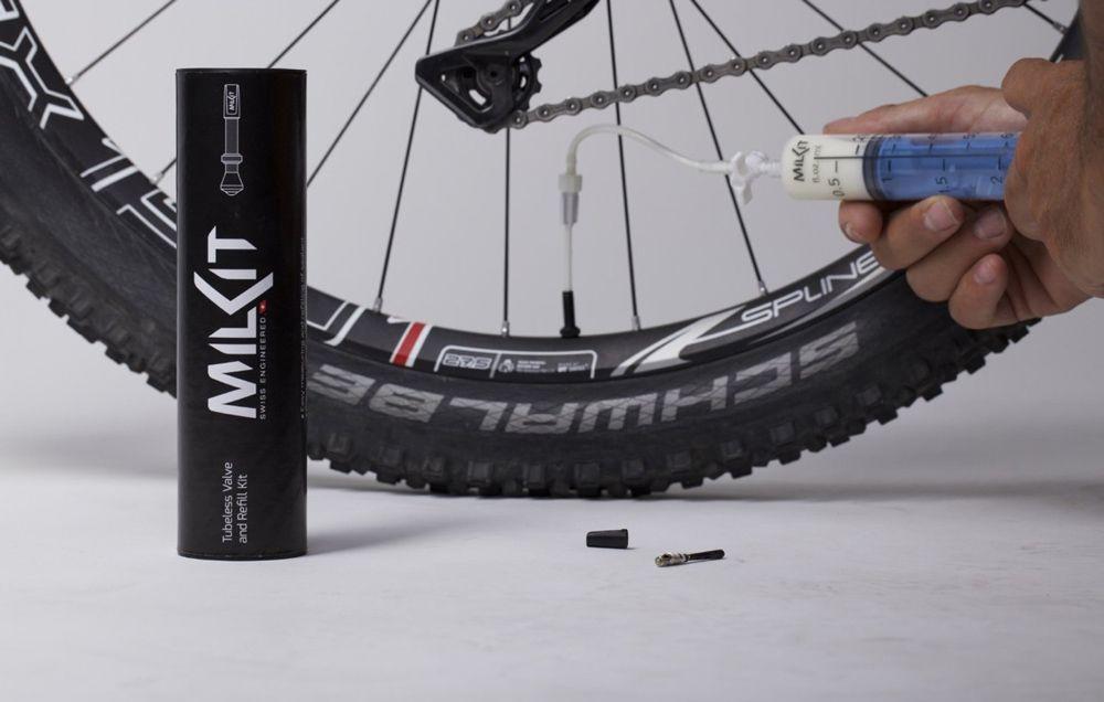 Milkit Makes Maintaining Tubeless Tires Easy Tubeless Tyre Bike