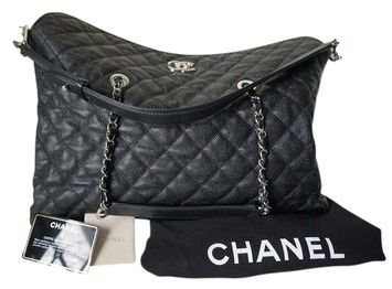 Chanel Caviar Large Hobo Bag. Hobo bags are hot this season! The Chanel Caviar Large Hobo Bag is a top 10 member favorite on Tradesy. Get yours before they're sold out!