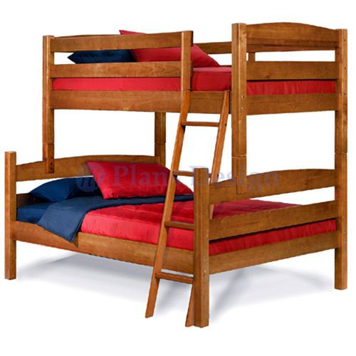 12 99 Twin Over Full Bunk Bed Woodworking Plans Design 1205