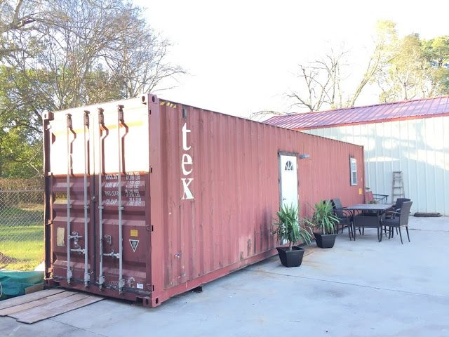 A 320 Sq Ft Shipping Container Home Available For Sale In Beaumont Texas Container House Storage Container Homes Tiny House Towns