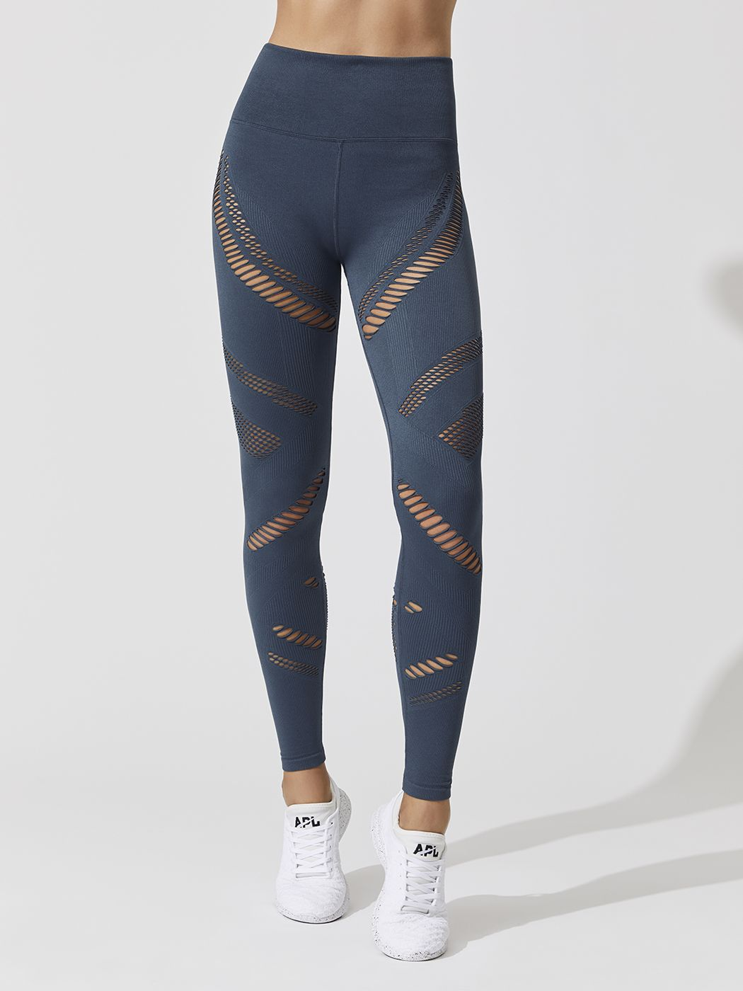9272095b863ea High Waist Seamless Radiance Leggings in Indigo by Alo Yoga from Carbon38