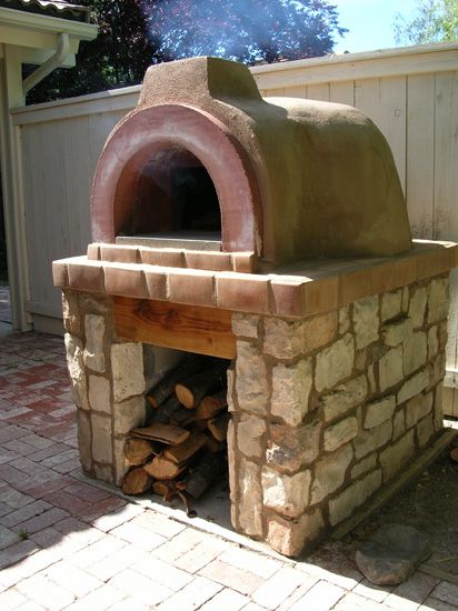 Outdoor Brick Oven For The Patio Brick Ovens Stone