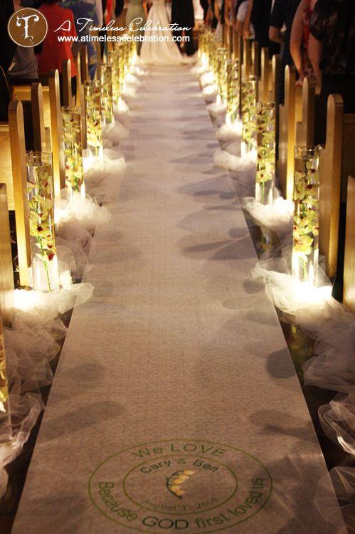 Aisle Runner Weddingbee Candle Wedding Decor Wedding Aisle Decorations Aisle Runner Wedding
