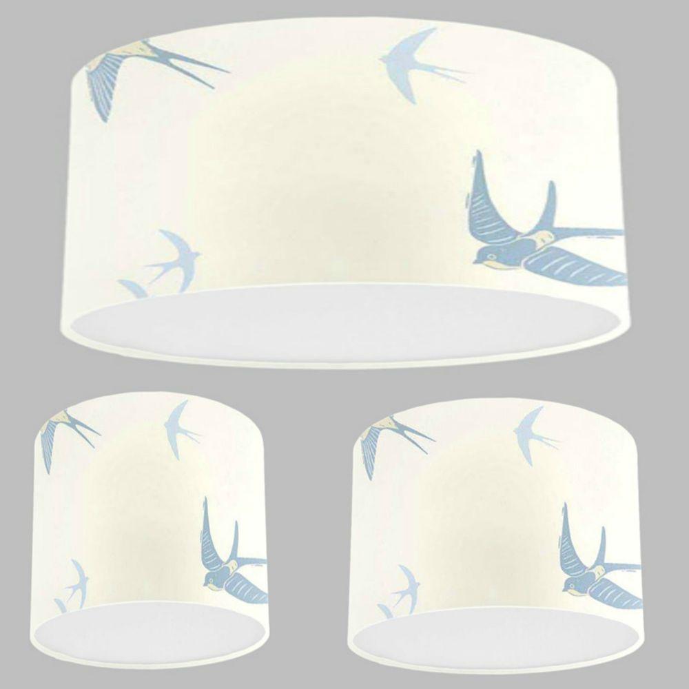 Handmade lampshade with laura ashley blue birds seaspray wallpaper handmade lampshade with laura ashley blue birds seaspray wallpaper lamp shade mozeypictures Choice Image