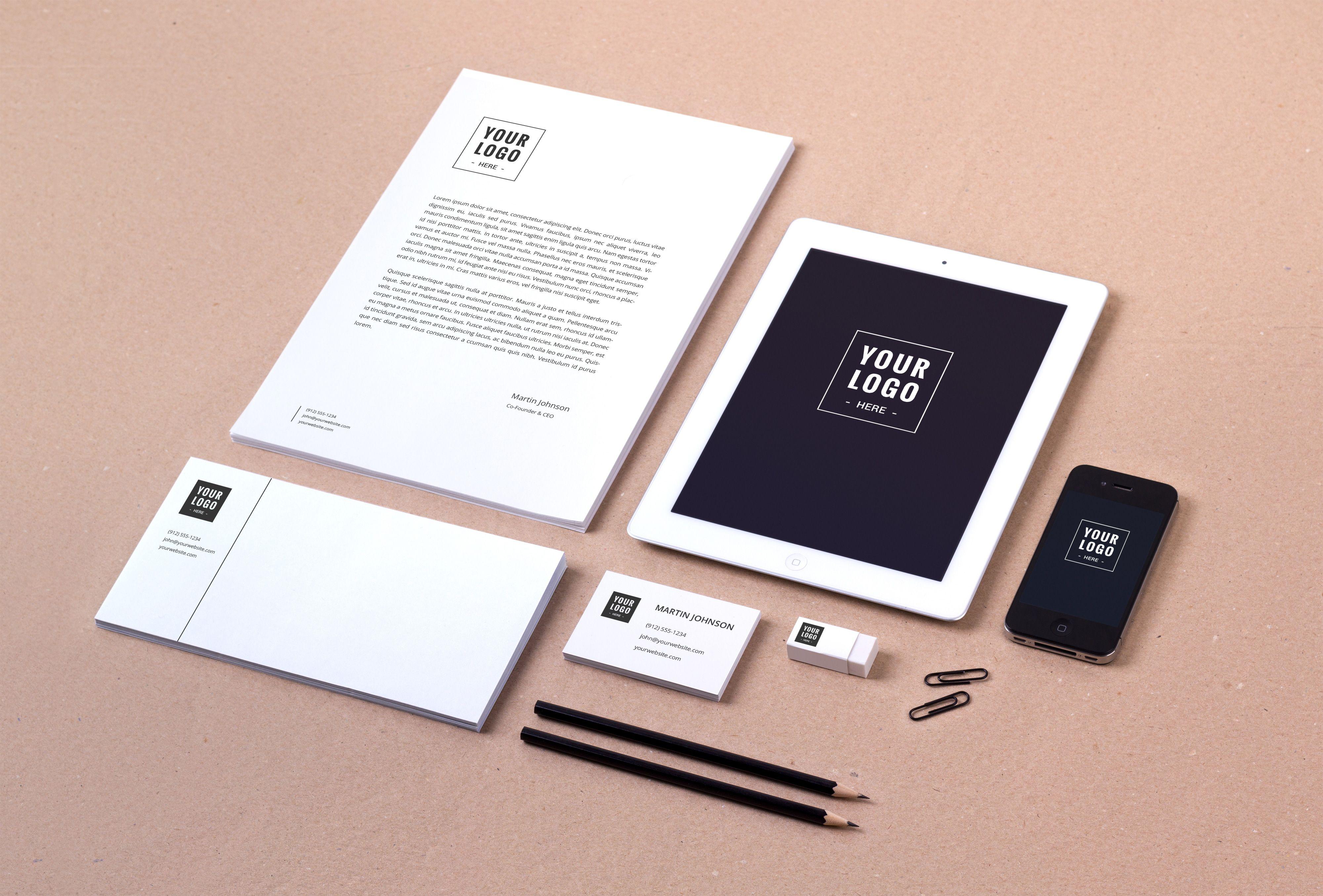 Branding Identity Mockup Vol 8 Graphicburger Branding Identity Mockup Branding Mockups Psd Branding Mockups