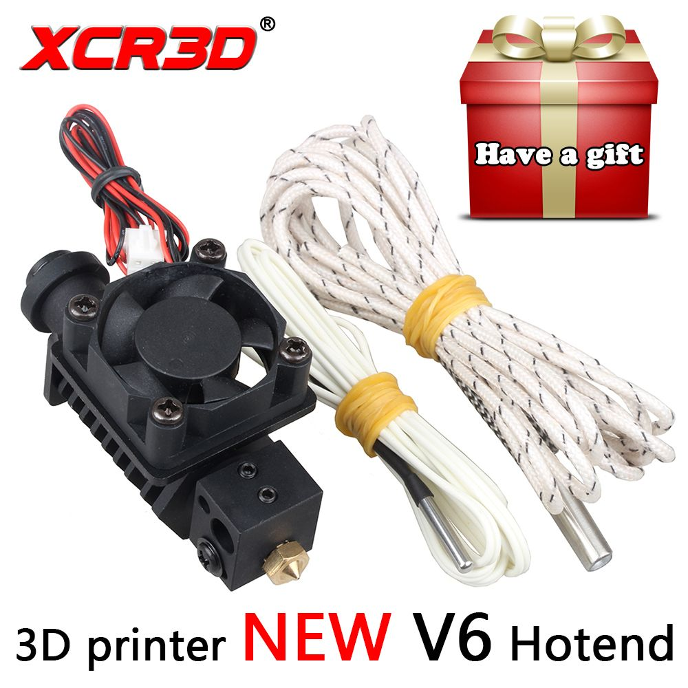 XCR3D 3D Drucker Teile V6 Hotend für 1,75mm Filament