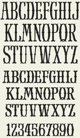17 Best ideas about Block Letter Fonts on Pinterest