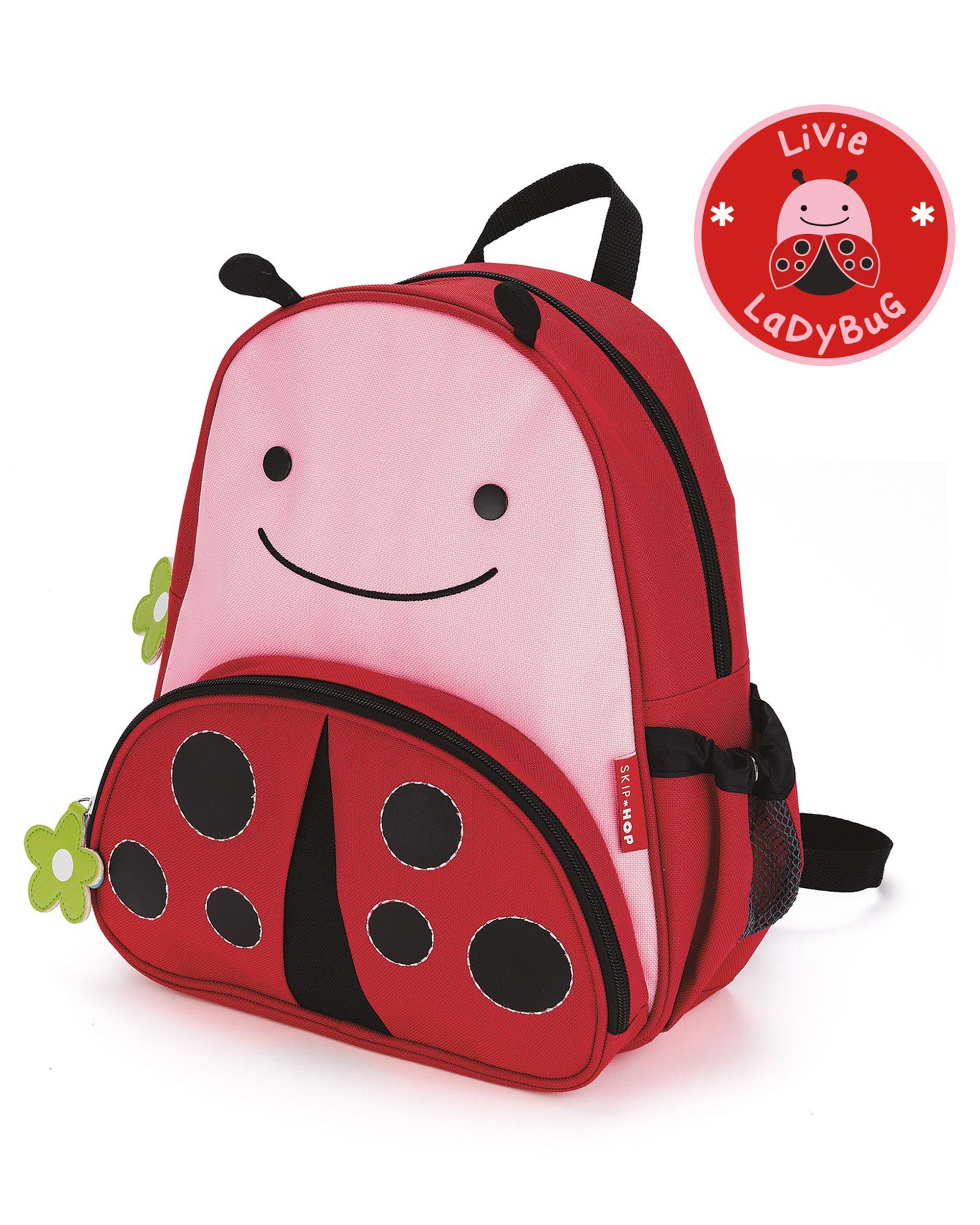 Personalised Cute Fox Girls Pink Kids Backpack Children/'s School Bag
