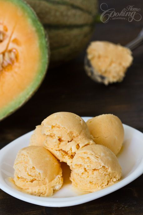 Melon Ice Cream #healthyicecream