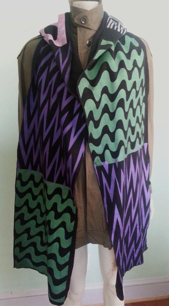 Christian Joy Multi Colored Wool Jersey by CHRISTIANJOYCOSTUMES