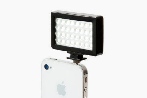 The pocket spotlight for the iphone