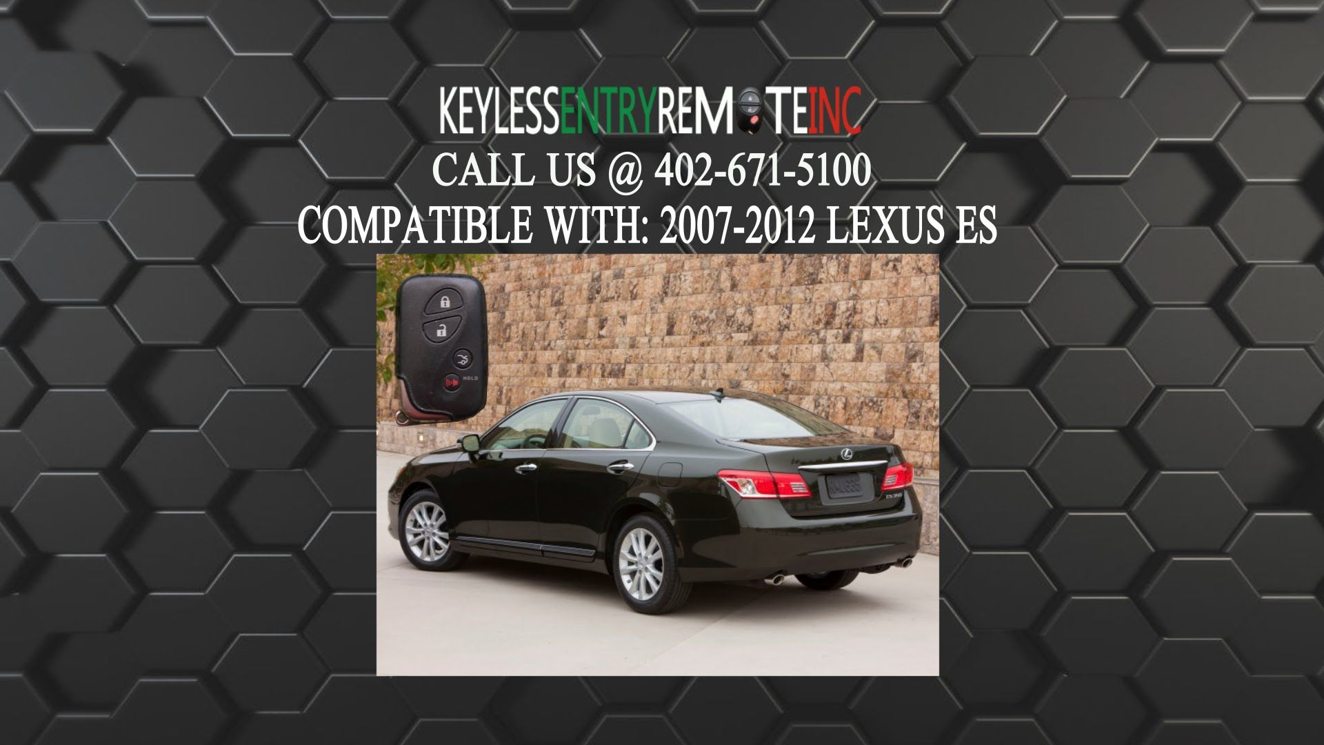 How To Replace Lexus ES Key Fob Battery 2005  2011