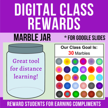 Marble Jar Digital Reward Class Incentive Google Apps Distance Learning Student Incentives Class Incentives Classroom Rewards