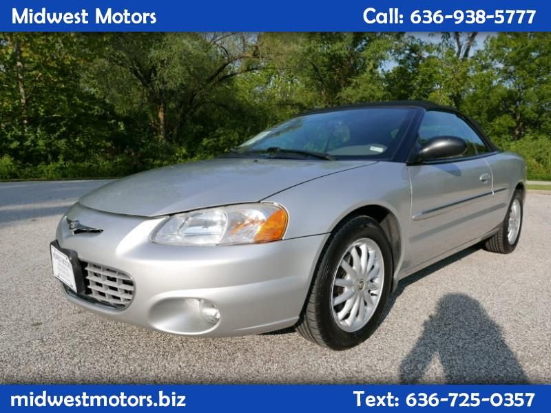 Used 2002 Chrysler Sebring Lxi Convertible For Sale In St Louis Mo