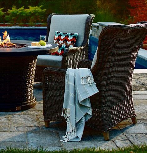 The Beautiful Canvas Beaumont Patio Armchair Available Canadian