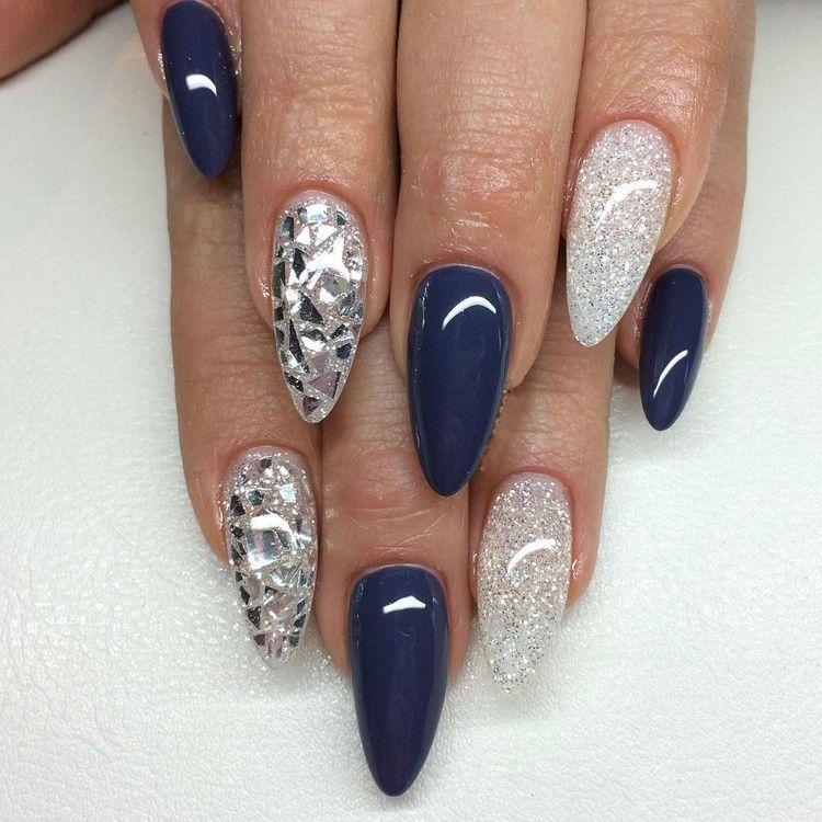 Schöne Nageldesigns Und Aktuelle Nagellack Trends Glass Nails Und