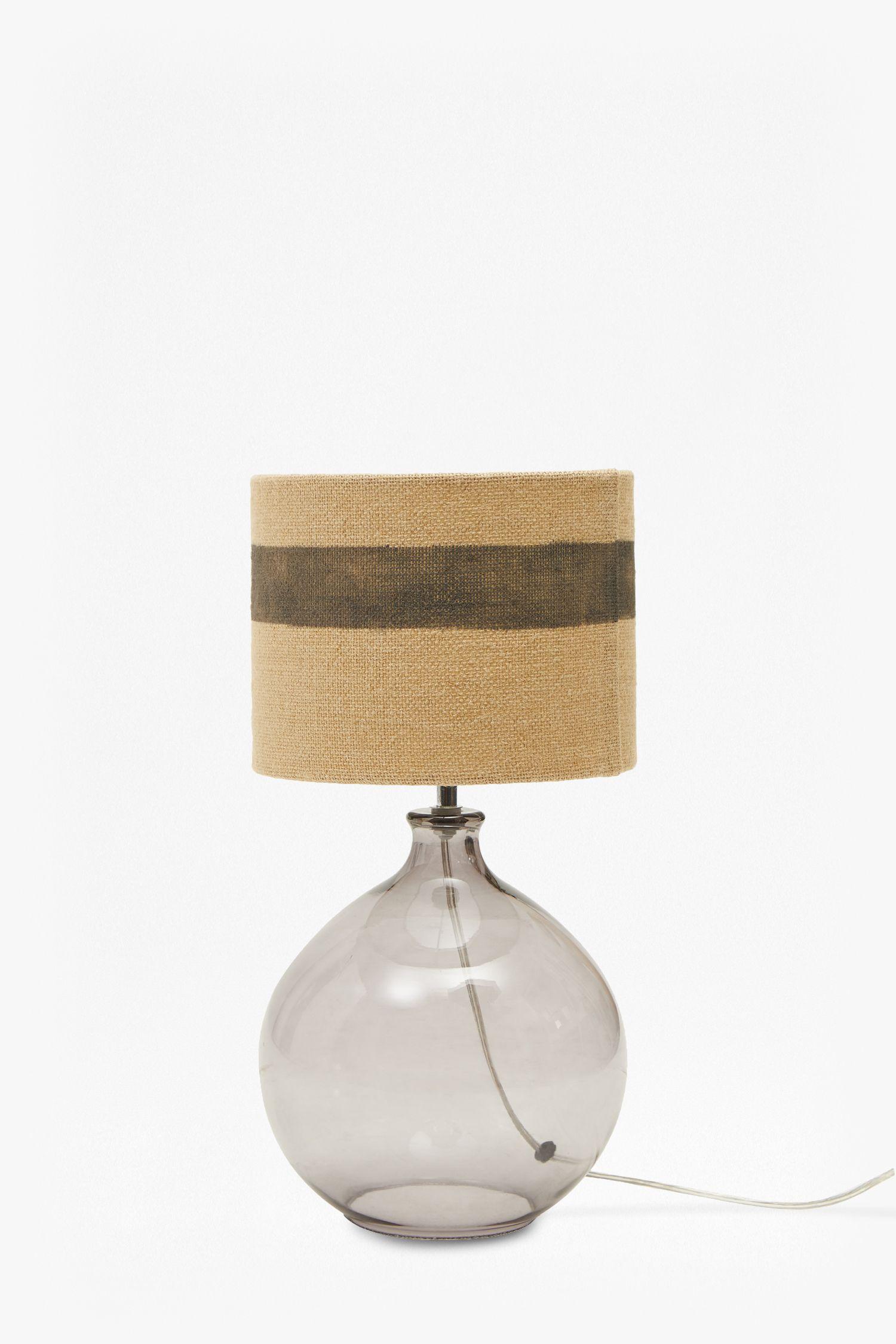 Glass Bubble Lamp Glass Fabric Shades Modern Lighting