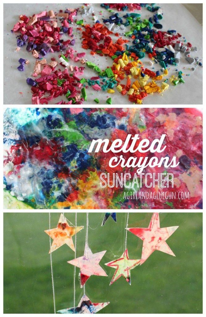 23+ Wax paper suncatcher crafts ideas
