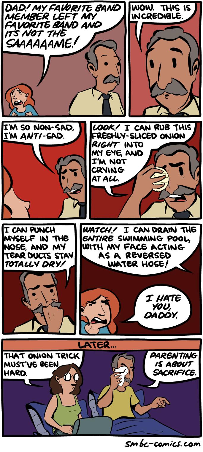 Смотреть комиксы папа и дочь