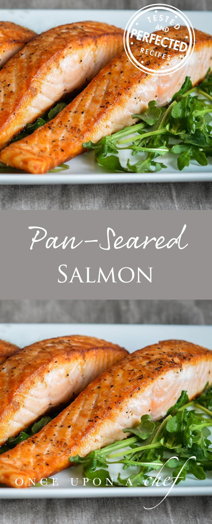 Restaurant-Style Pan Seared Salmon - Once Upon a Chef
