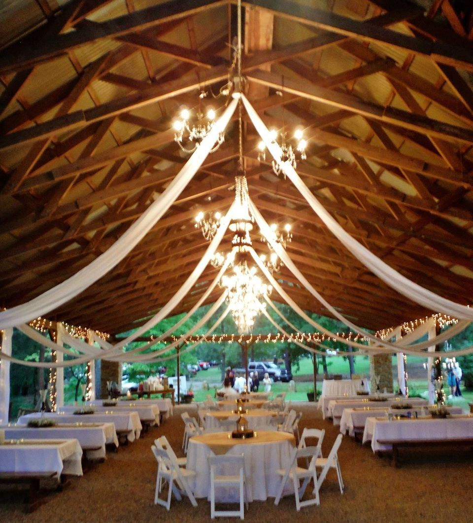 7 Barn Wedding Decoration Ideas For A Spring Wedding: Pavilion Wedding Decorations, Pavilion