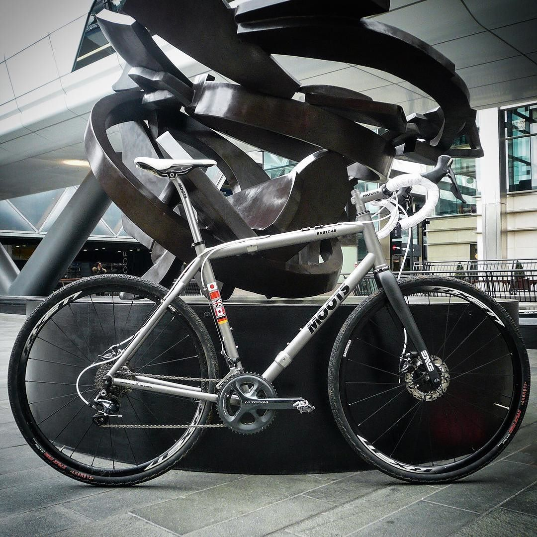 Matt\'s Moots Routt 45 with S&S couplers. The perfect travel ...