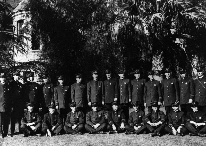The Pasadena Police Department In 1902 Lapl Bizarre Los Angeles Los Angeles History Vintage Los Angeles Pasadena