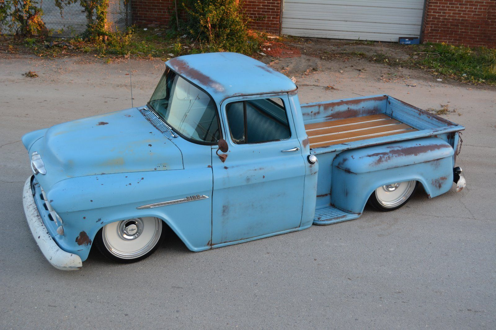 1955 Chevrolet 3100 pickup truck Air ride front and rear